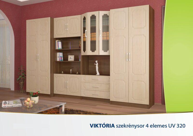 szekrenysor_VIKTORIA-4-ELEMES-UV-320