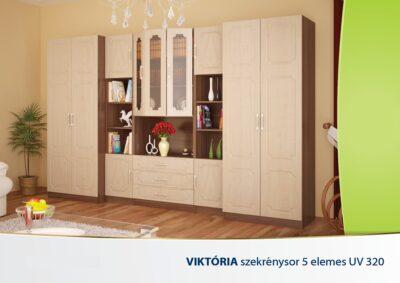 szekrenysor_VIKTORIA-5-ELEMES-UV-320